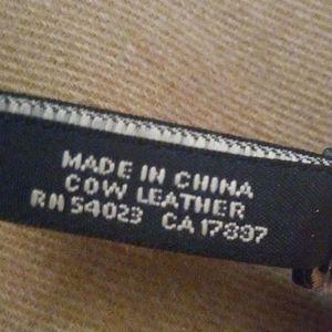 Banana Republic Accessories - Banana Republic Leather Belt Sz L